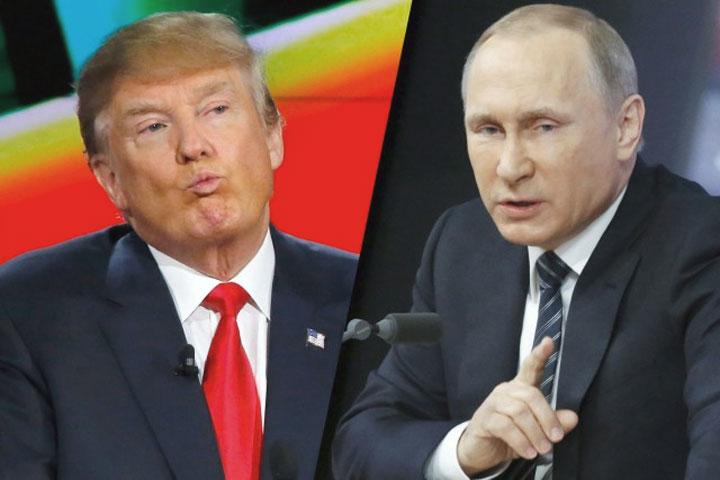 Trump e Putin progettano una guerra